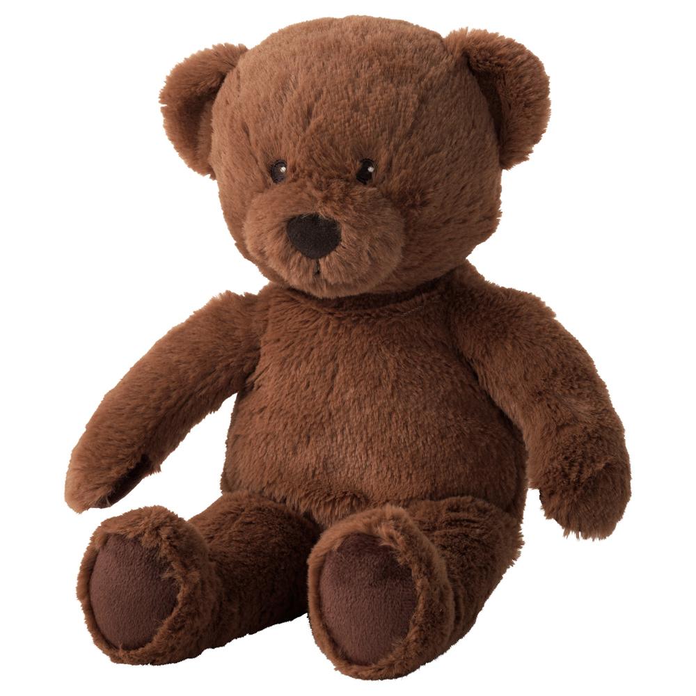 이케아 BRUNBJORN 곰 봉제인형, 브라운
