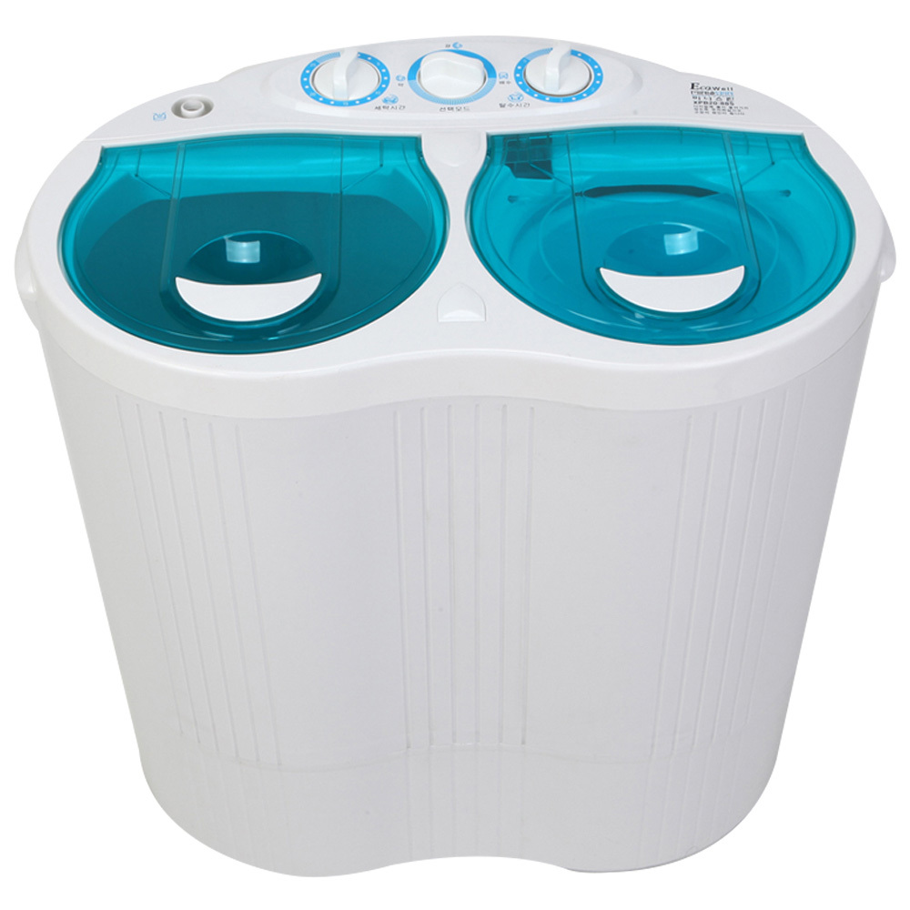 에코웰 미니스핀 세탁기 XPB20-88S 2 kg