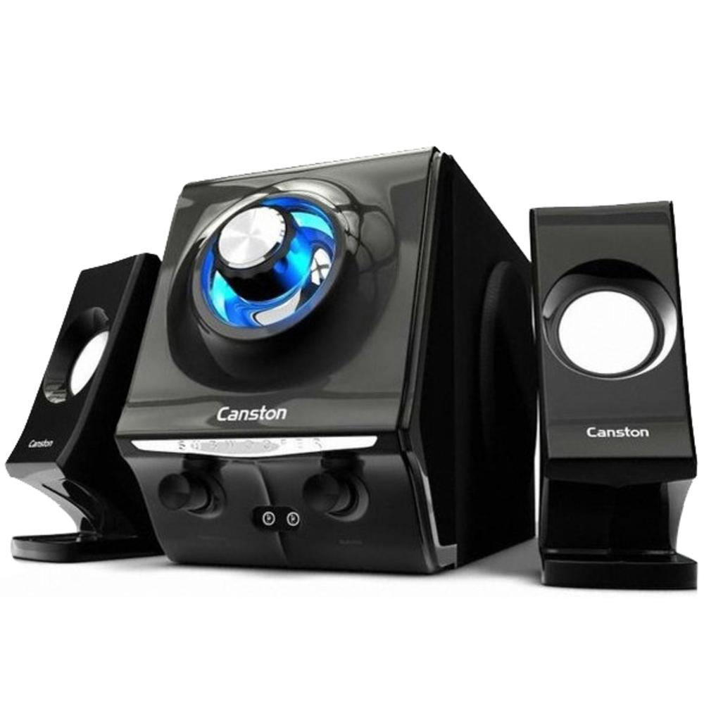 캔스톤 2.1채널 레노베이션 우퍼 스피커 LX-350, HIGH GLOSSY BLACK