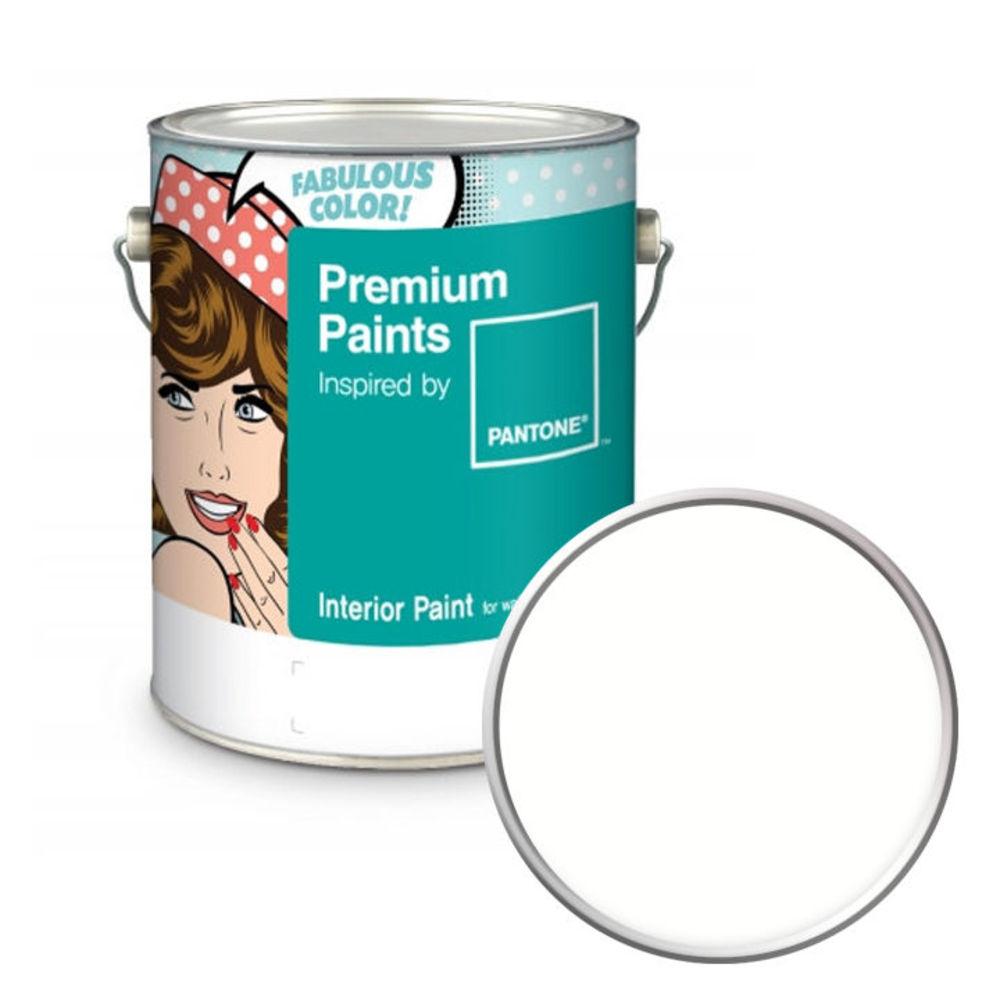 노루페인트 팬톤 내부용 실내 벽면 무광 페인트 4L, 11-4202 Cool White