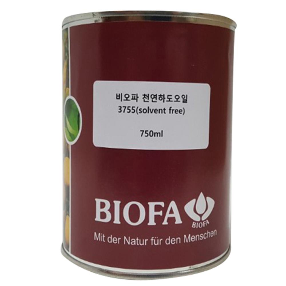비오파 천연 식물성 하도오일 3755 solvent free 750ml, 1개