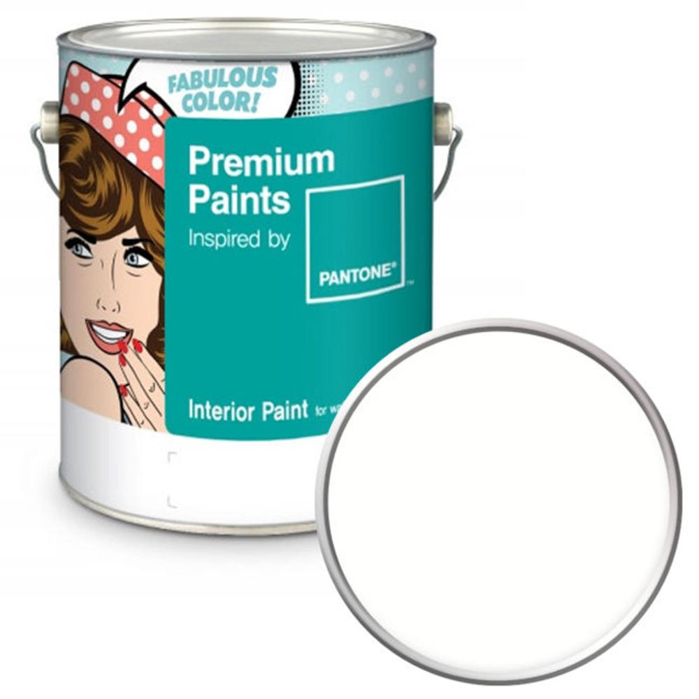 노루페인트 팬톤 내부용 실내 벽면 페인트 저광 4L, 11-0602 Snow White