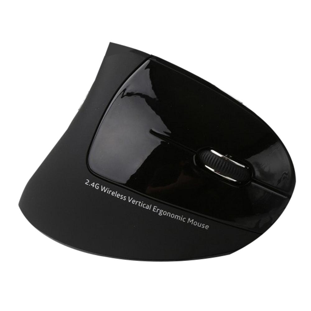 TG삼보 인체공학 버티컬 무선 마우스 TG-TM615G HEALING, 블랙