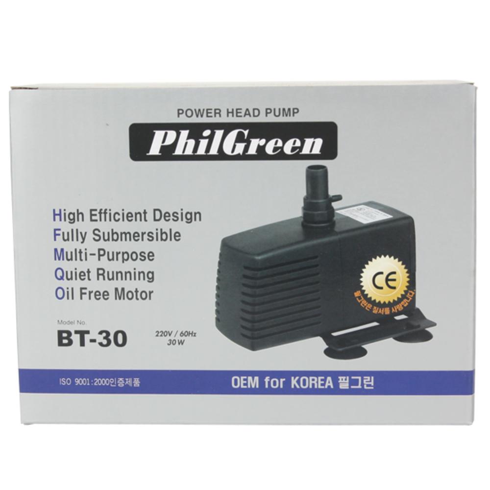 필그린 유체수중펌프 30W, 1개