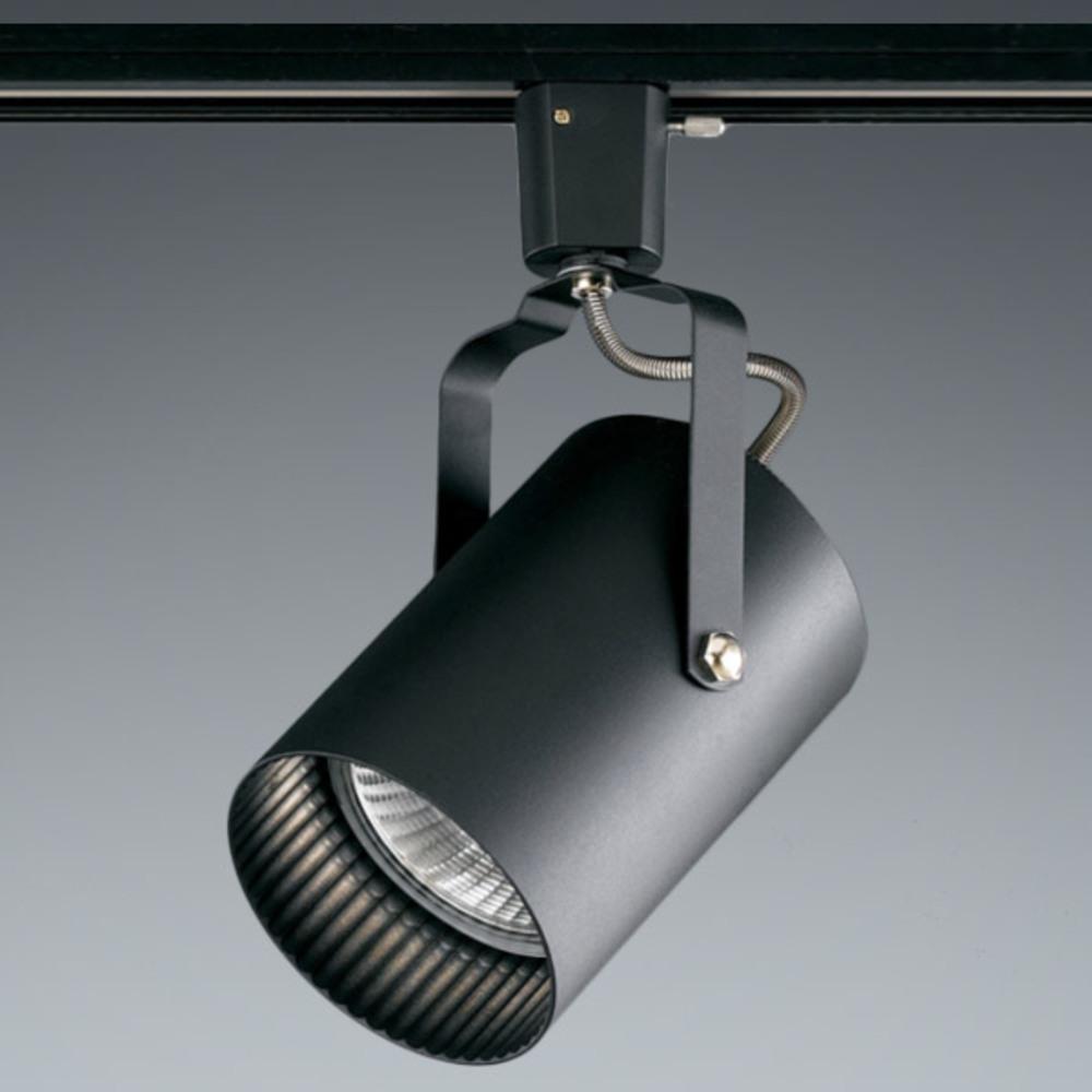 이솔전기 LED 원통 PAR30 레일 등기구 E26, 블랙