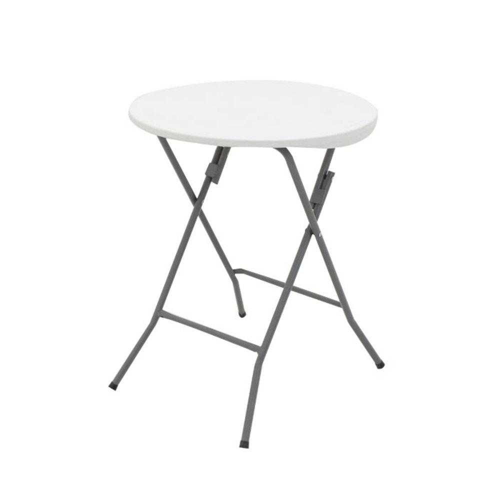오에이데스크 브로몰딩 테이블 원형 600, 화이트