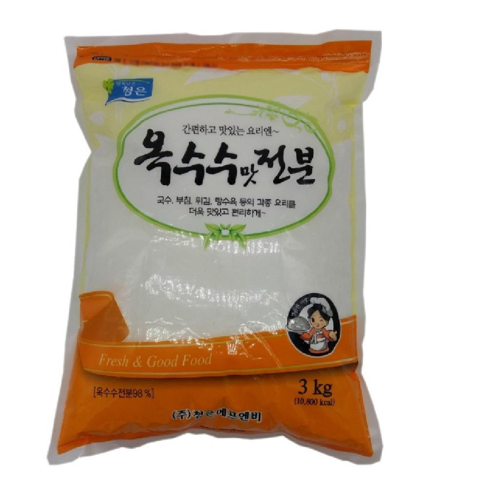 청은 옥수수맛 전분, 3kg, 1개