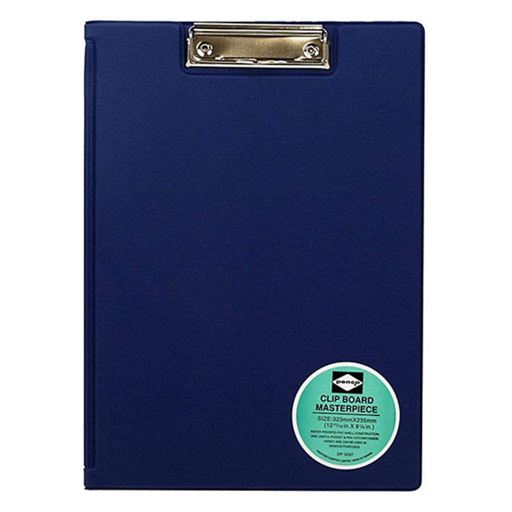 하이타이드 펜코 클립보드 A4, 블루, 1개