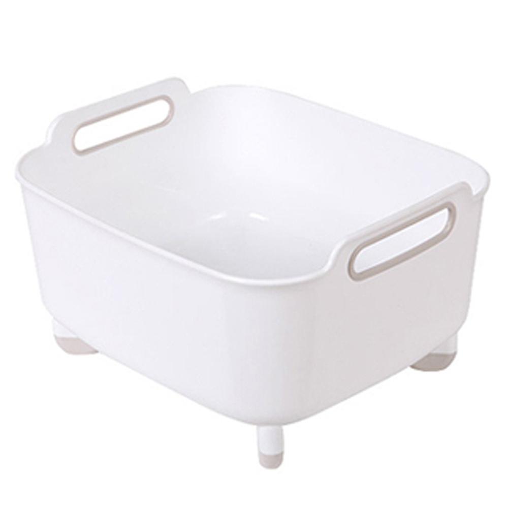 창신리빙 프라임 핸디 설거지통 대 12.5L, 화이트, 1개
