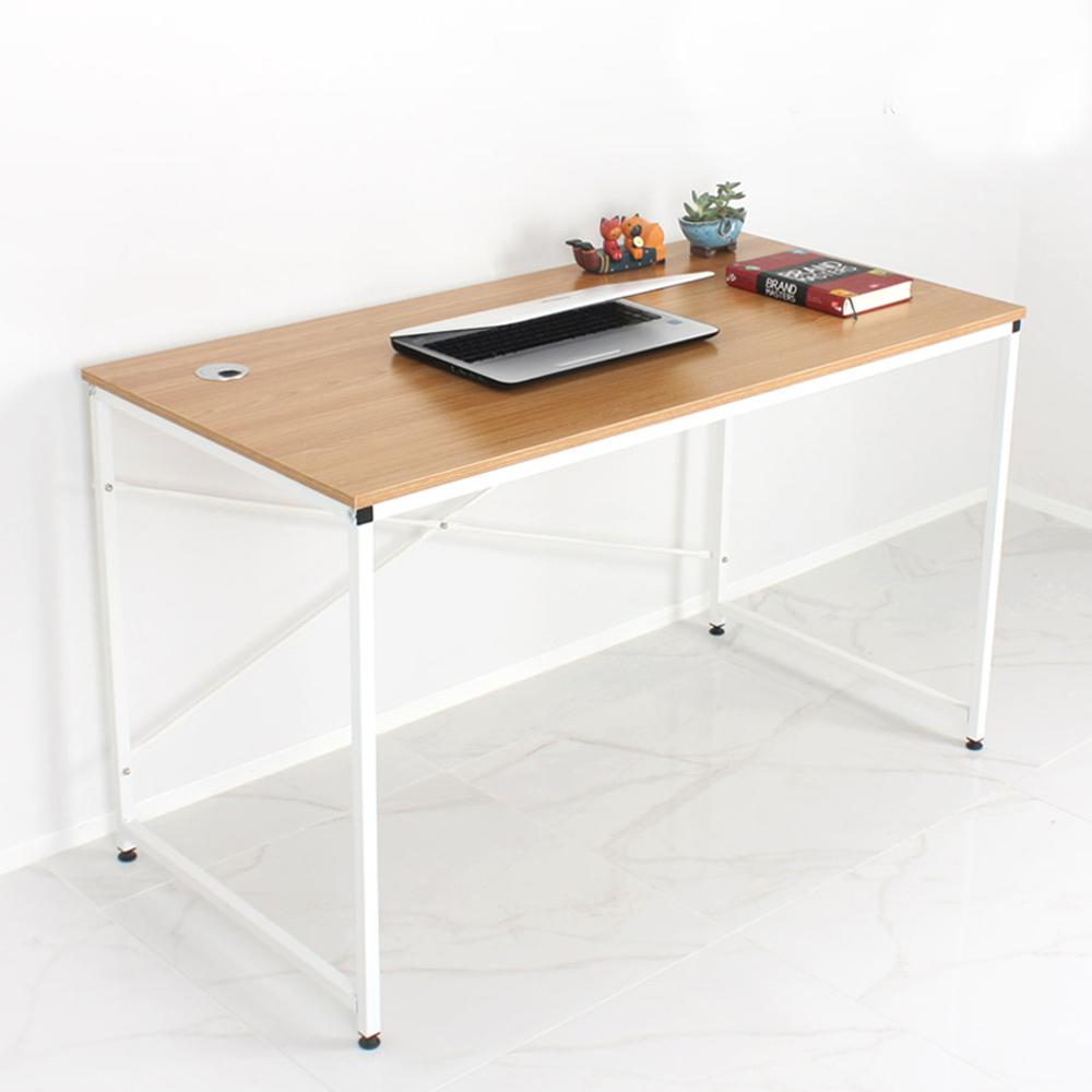 노노스 위든 1200 책상, 화이트프레임 + 오크상판