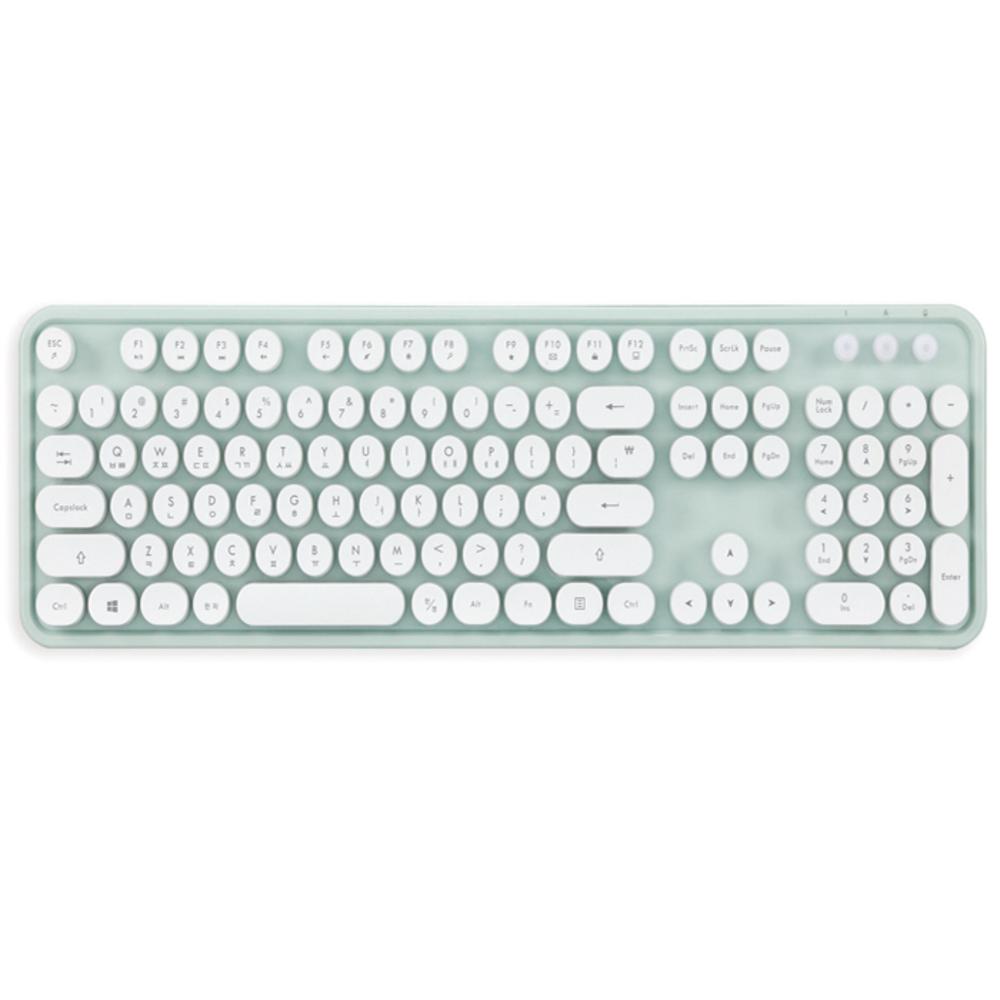 엑토 레트로 무선 키보드 KBD-48, Mint