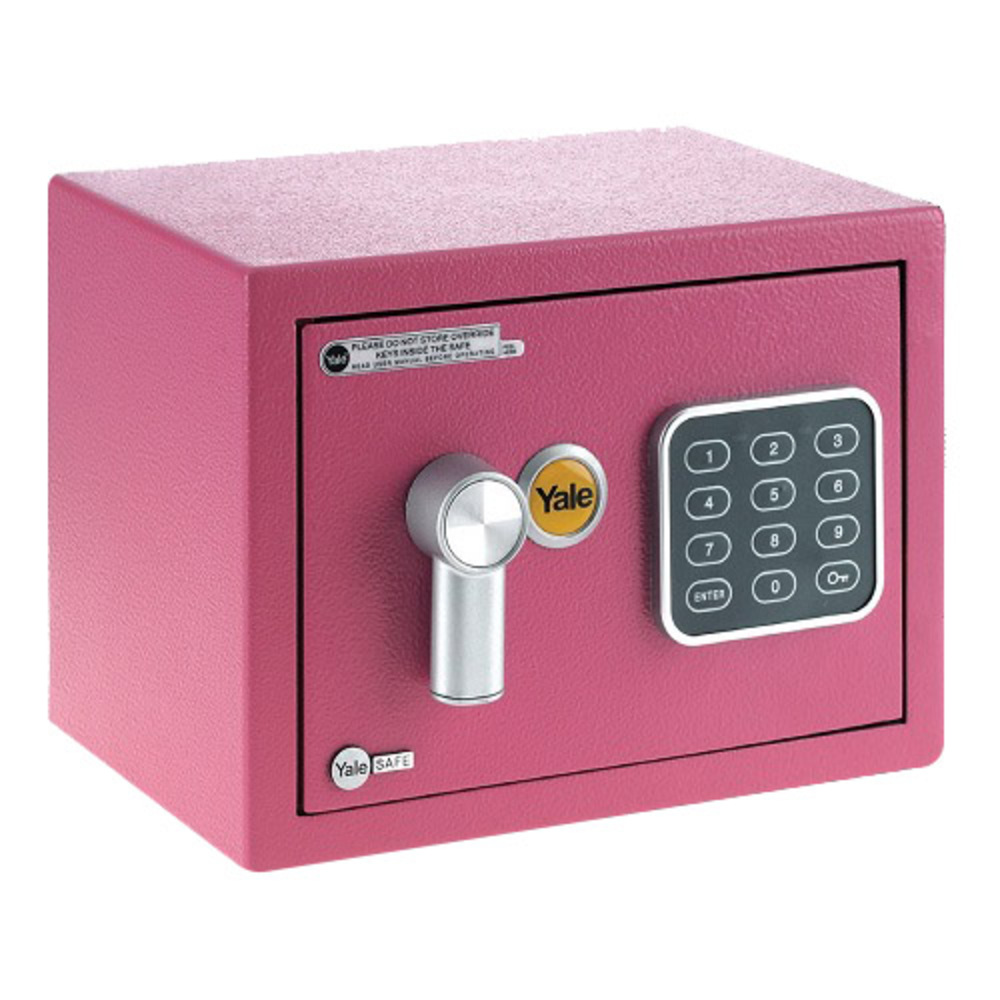예일 미니금고 YSV/170/D, 핑크