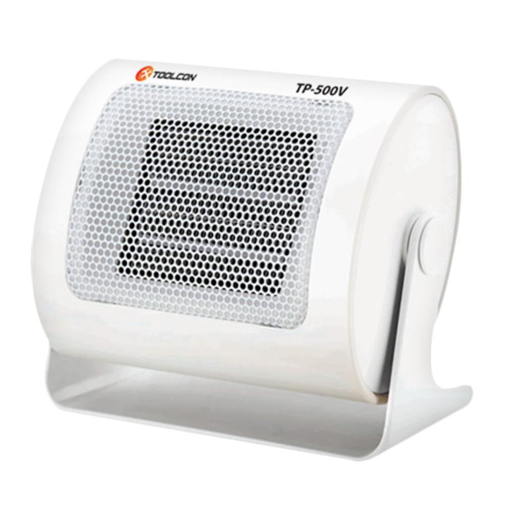 툴콘 PTC 미니 팬히터 TP-500V, 혼합 색상