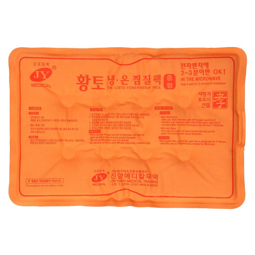 제이와이메디칼 황토 냉온 면 찜질팩, 1개