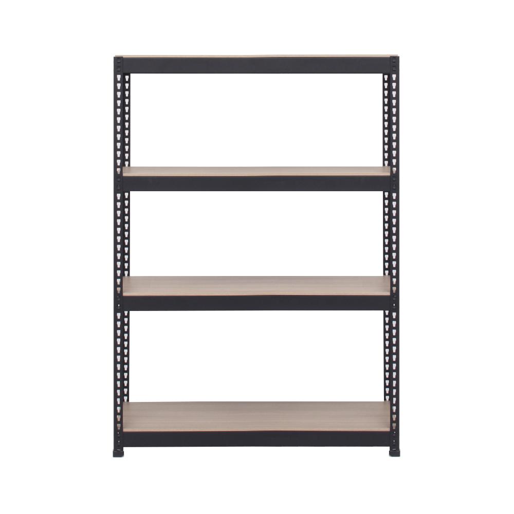 스피드랙 스탠드선반 4단 1100 x 400 x 1800 mm, 블랙앵글