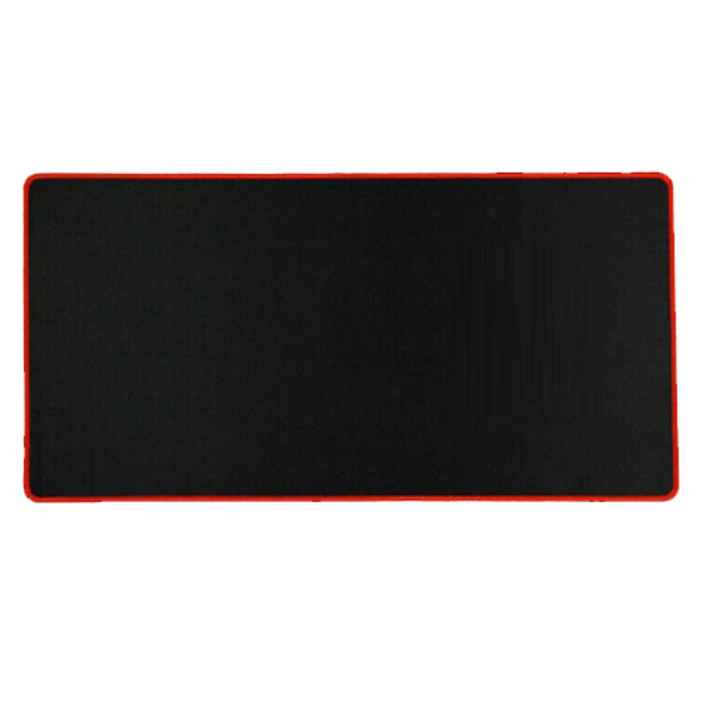 이츠라이프 키보드 마우스 장패드 4~5mm, 레드, 1개