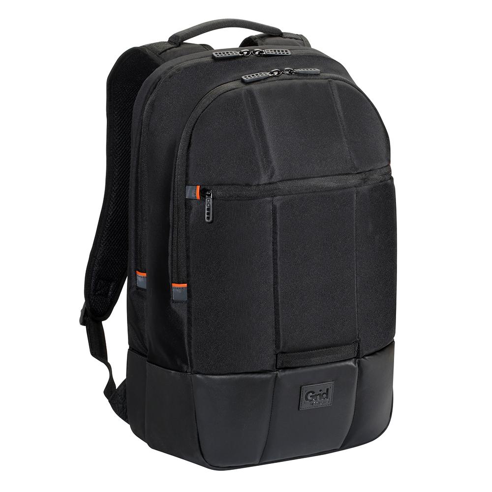 타거스 GRID 에센셜 노트북 백팩 TSB848, 블랙, 16in