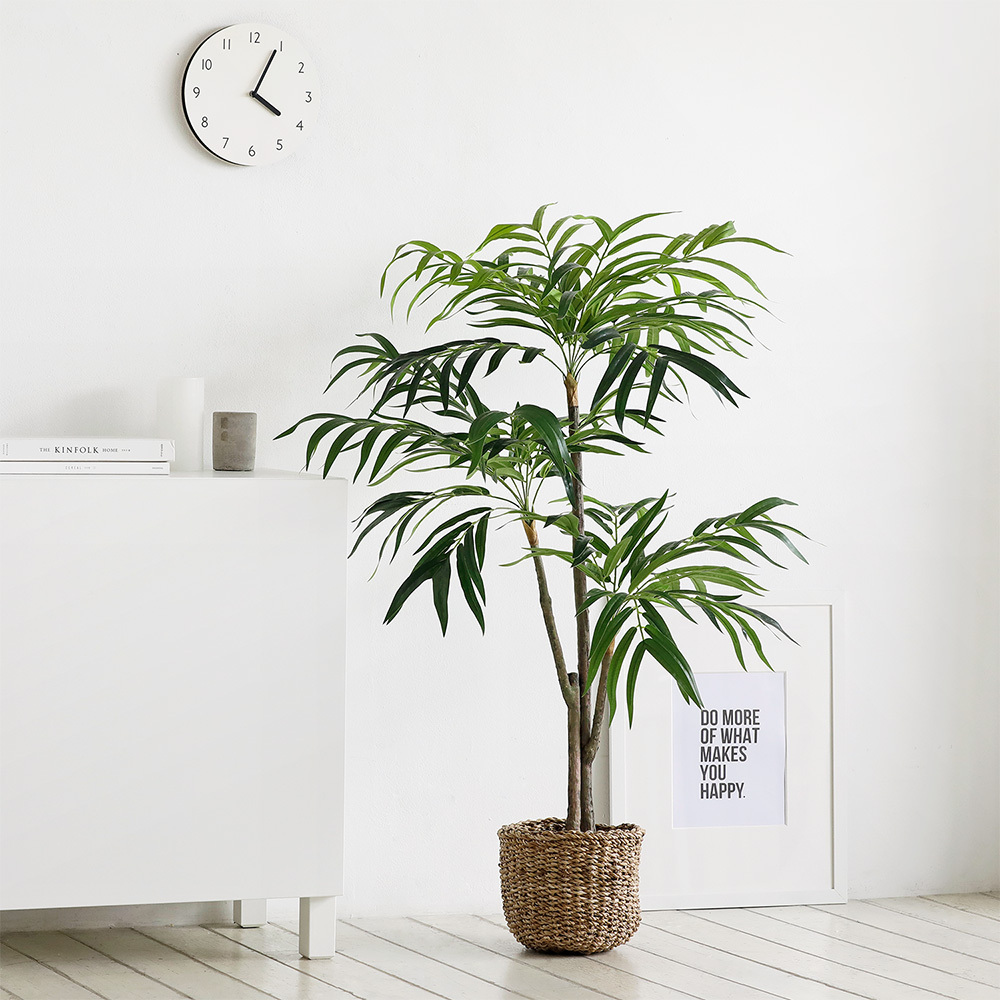 룸앤홈 자바 조화나무 120, 혼합 색상, 1개