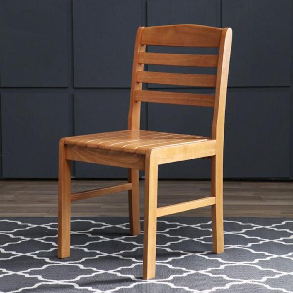 베스트리빙 디노 사파이어 원목 의자 2p, 엔틱