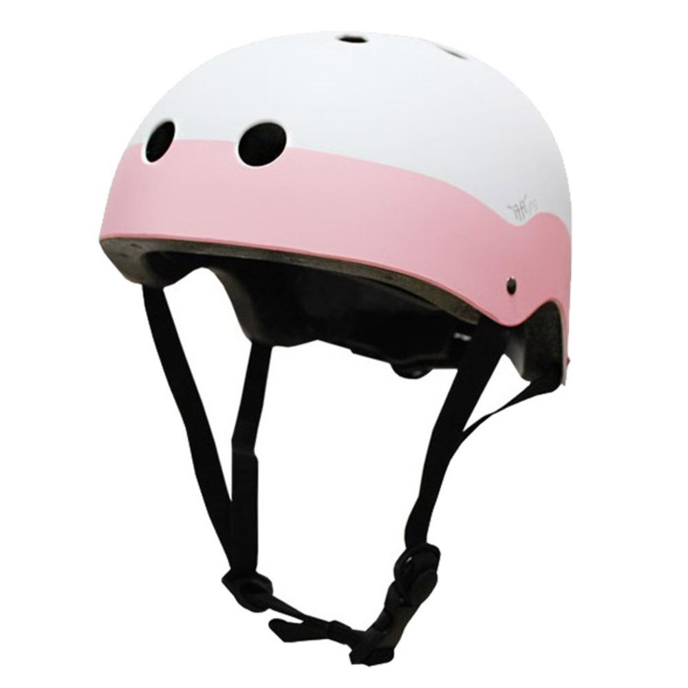 이프플라잉 스노우 운동용 안전 헬멧 WH90 화이트 핑크