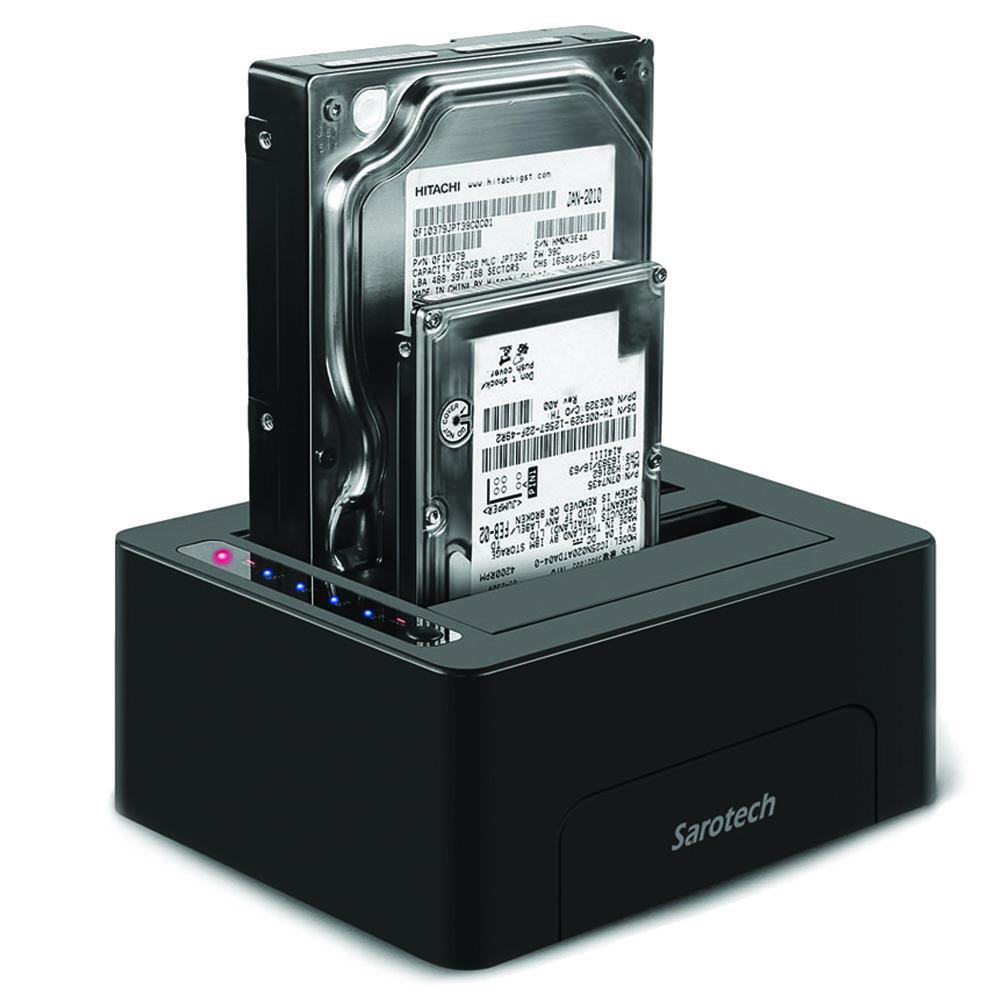 새로택 USB 3.0 2Bay 위즈플랫 하드도킹스테이션 WIZ-3082, 단일상품