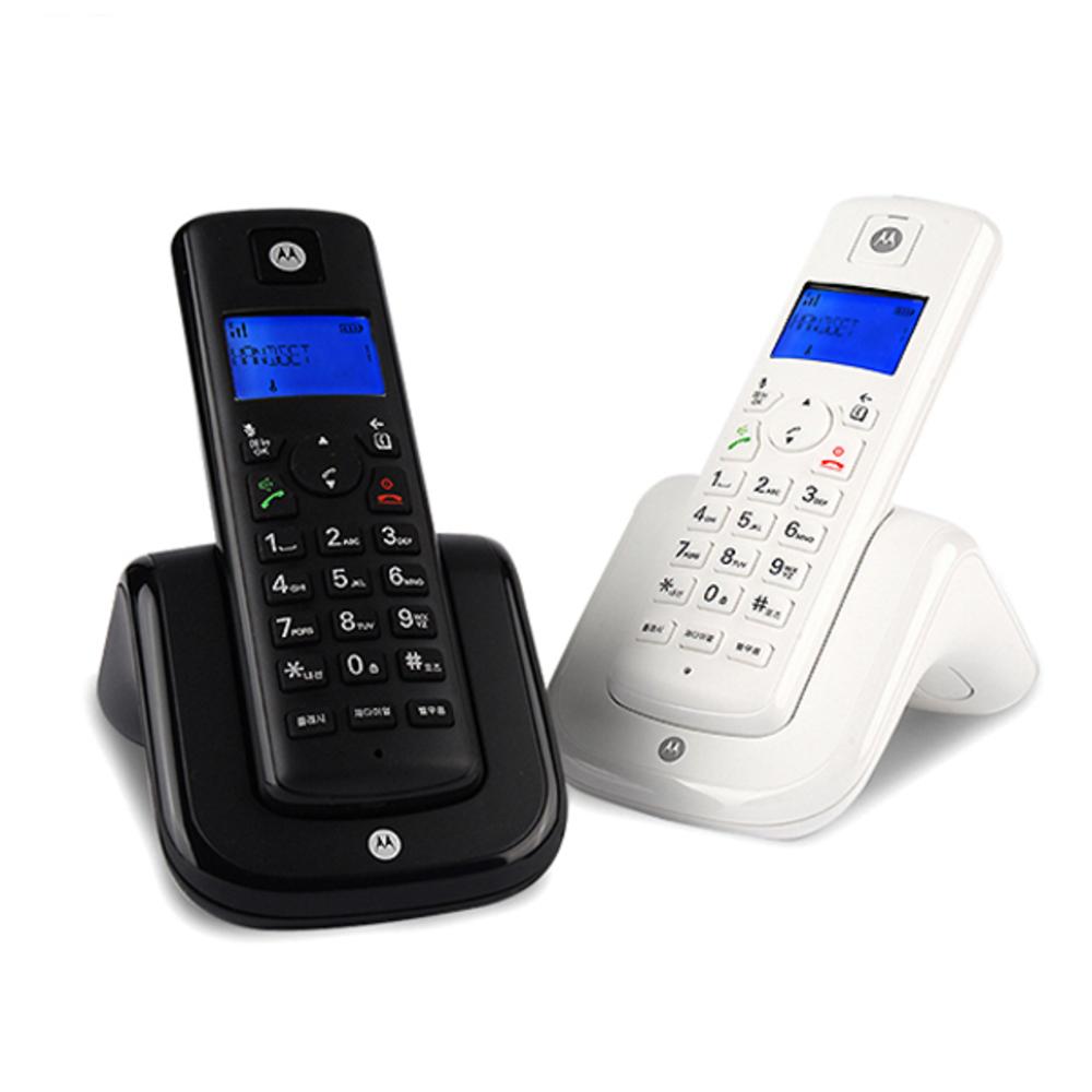 모토로라 디지털 무선전화기 Dual T201A, T201A(화이트 + 블랙)