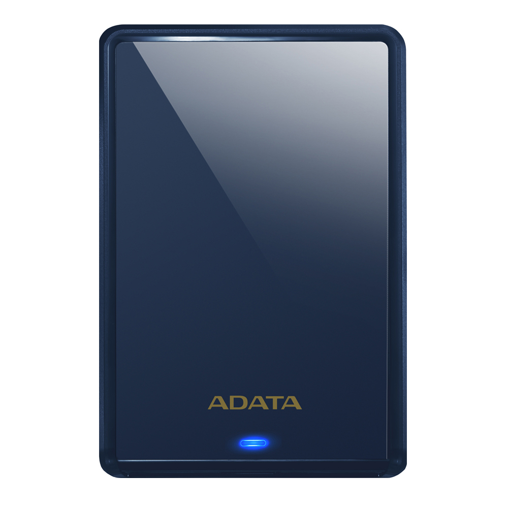 ADATA USB 3.1 슬림 외장하드 HV620S, 1TB, 블루 (POP 59340200)