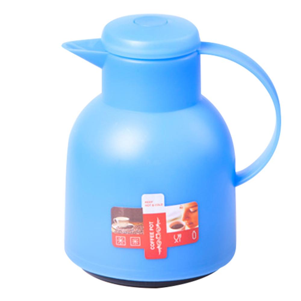 푸코 고티카 보온보냉 주전자, 1L, 블루