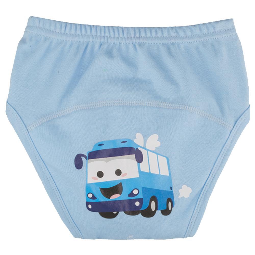 아가짱 유아용 프랜들리 배변훈련팬티, 파란색(버스)