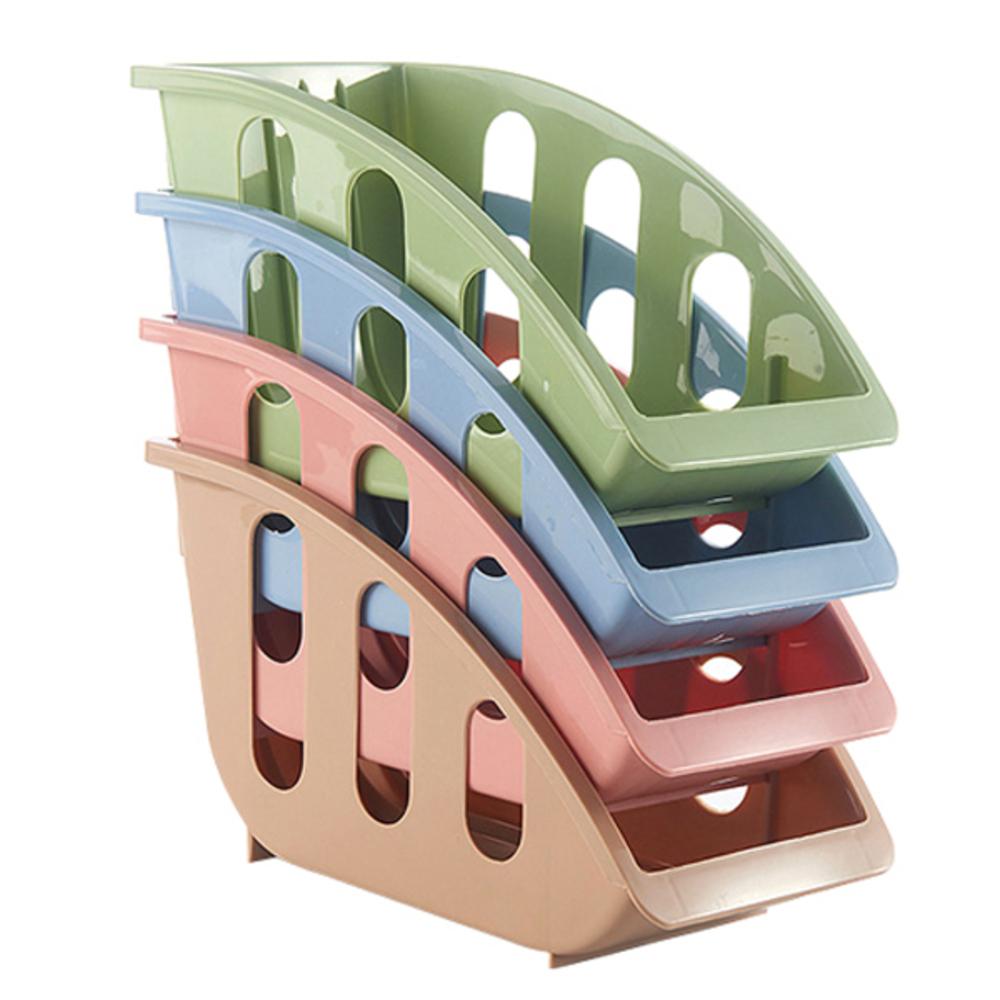 블럭마트 주방 접시꽂이 색상 랜덤, 4개입