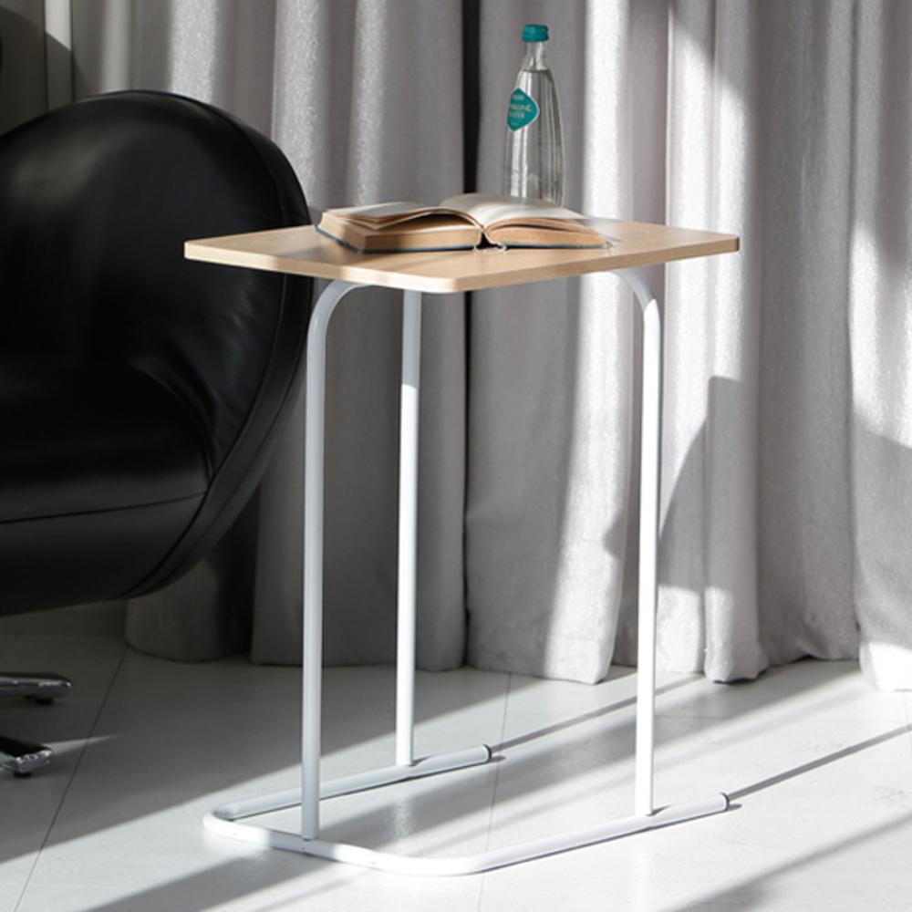 지후 이지심플 보조 테이블, 화이트