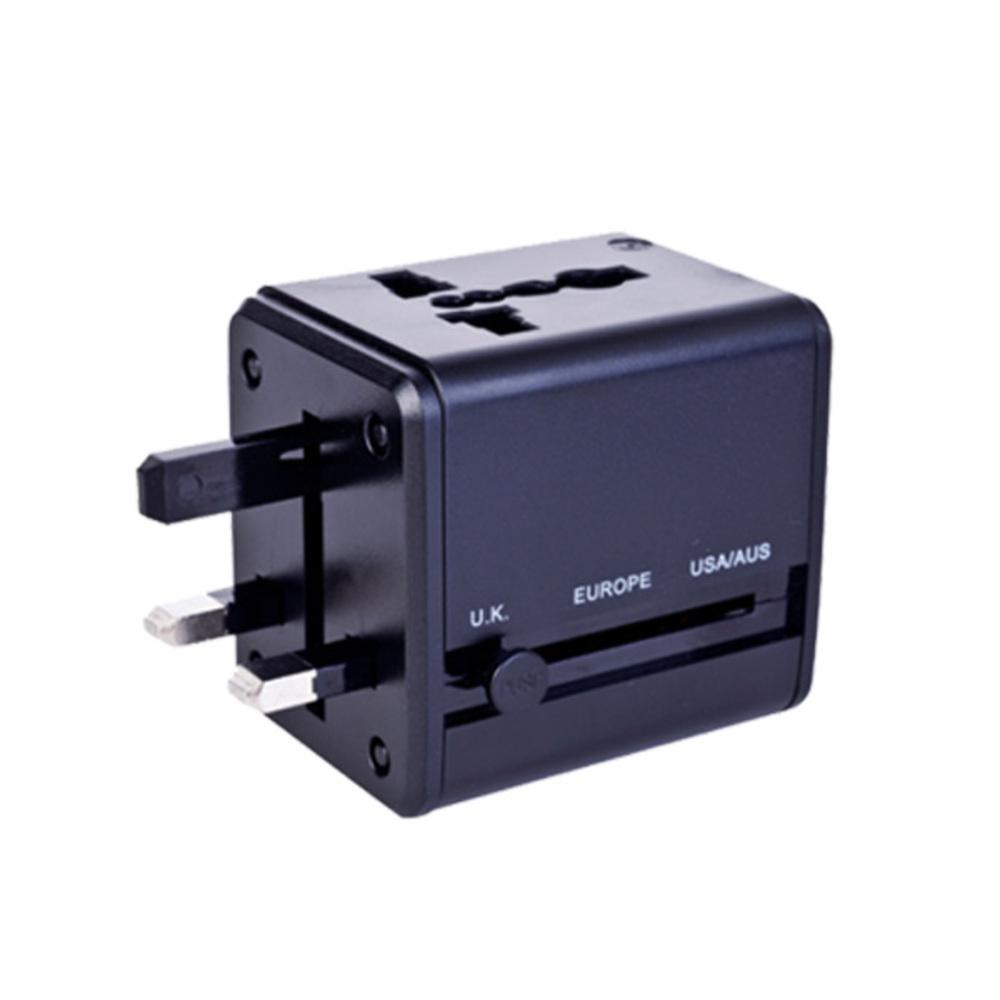 넥스원 초고속 USB 여행용 멀티어댑터 2.1 A 블랙, 1개