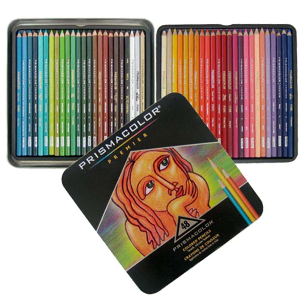 산포드 프리즈마 색연필 세트, 48색