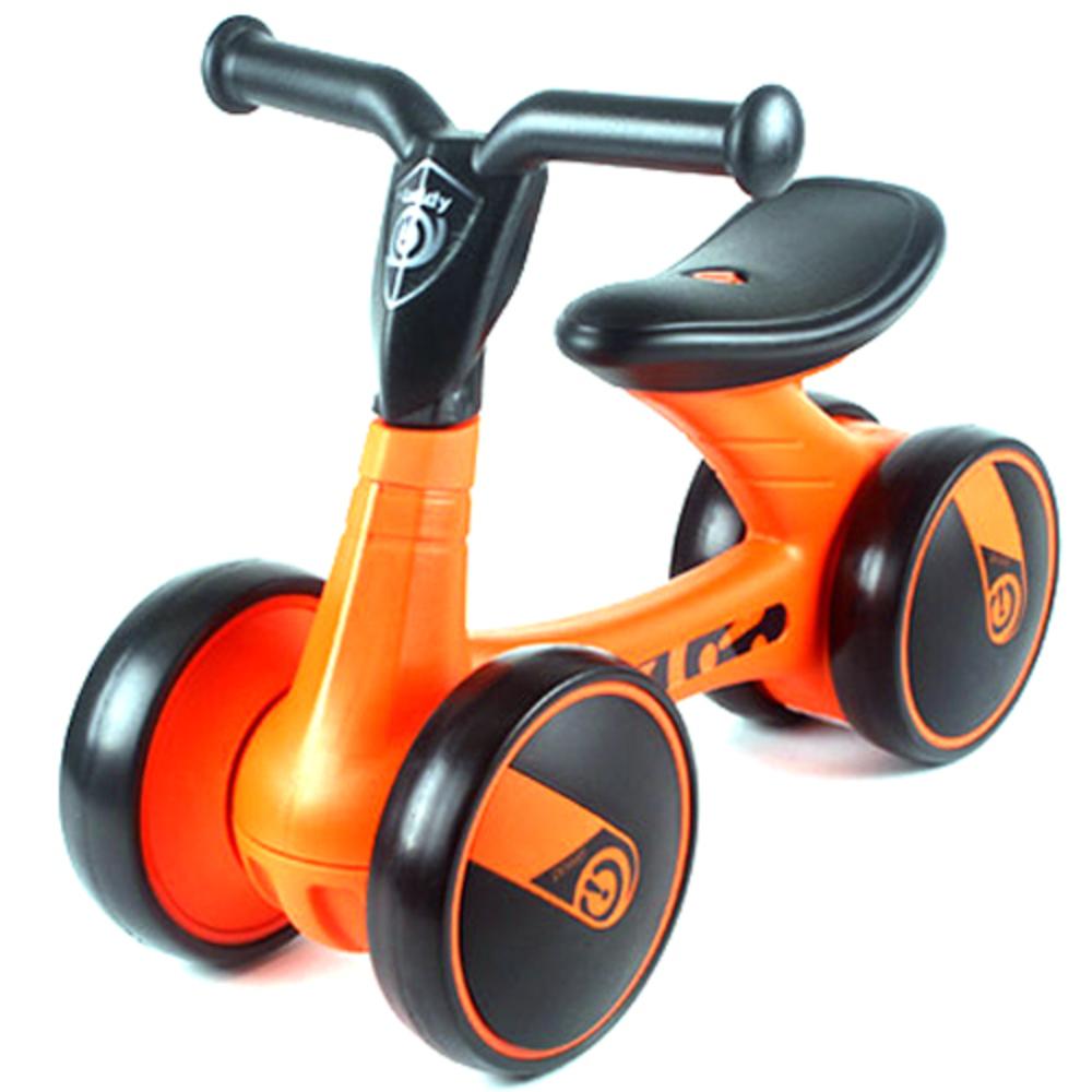 파파스토이 유로 프리미엄 유아용 세발 자전거, 오렌지
