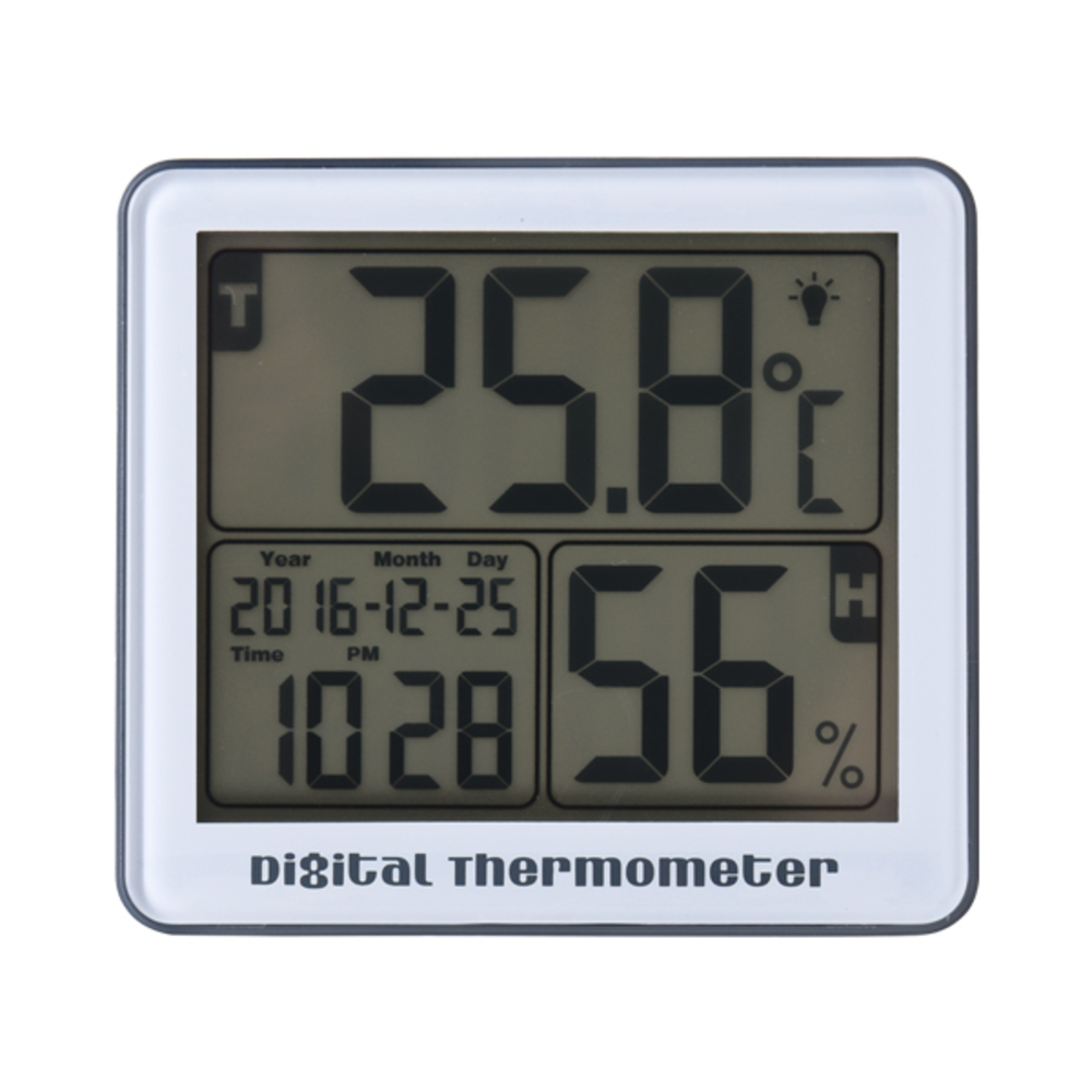 노바리빙 디지털 온습도계 SH210 그레이, 1개