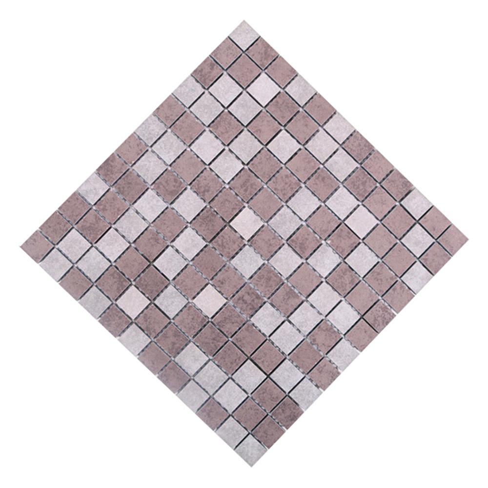 이누데코 포세린 모자이크타일 H2303, 내츄럴 콘크리트, 4개입