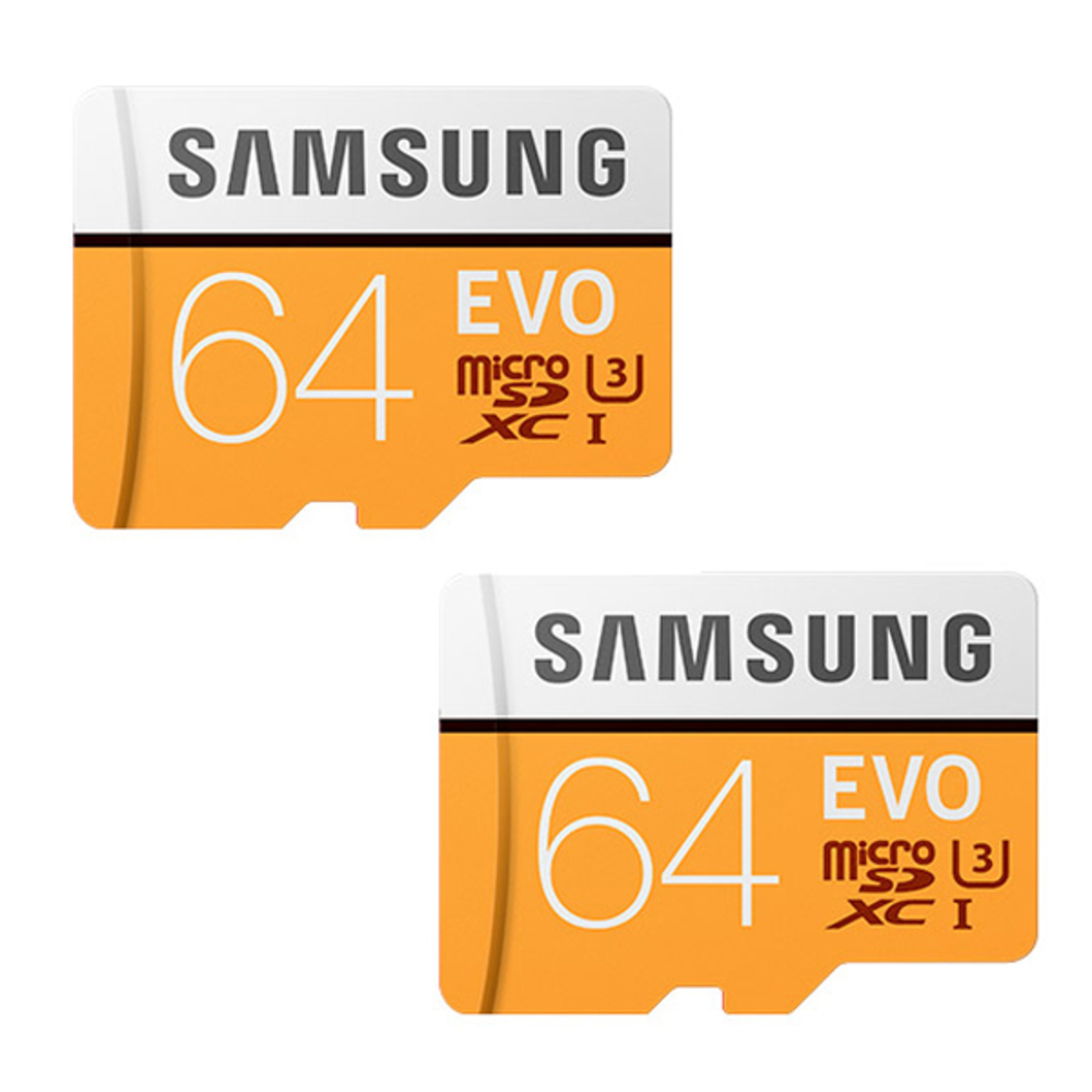 삼성전자 EVO 마이크로 SD 메모리카드 2p, 64GB