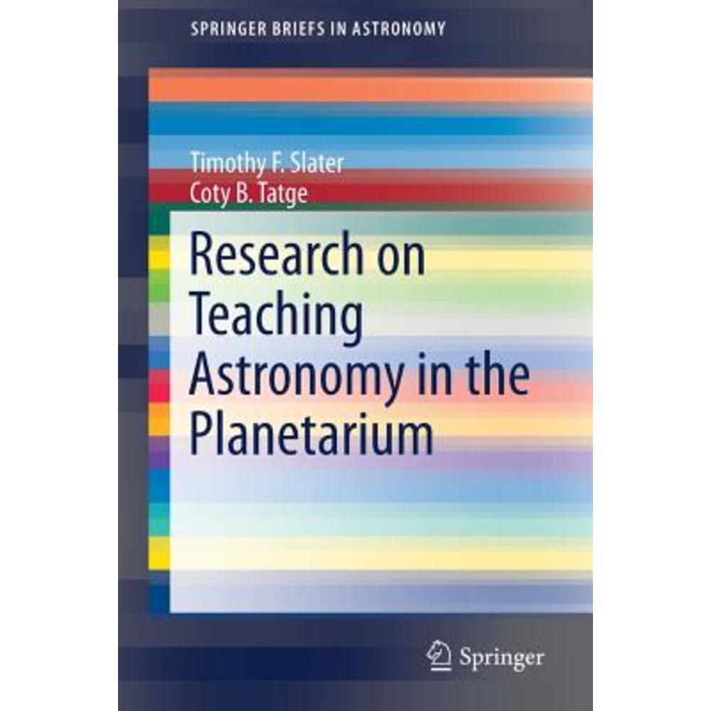 Research on Teaching Astronomy in the Planetarium Paperback, Springer