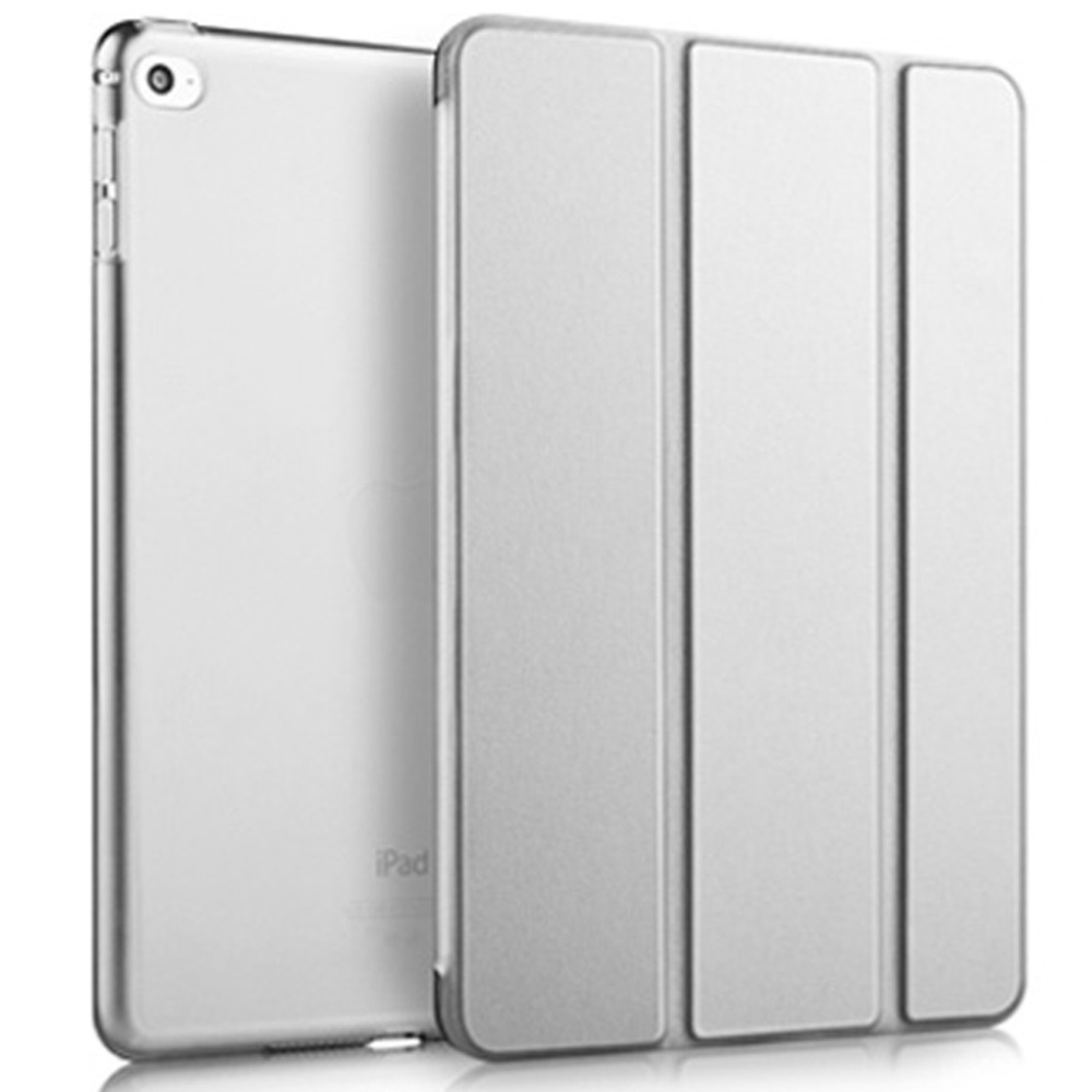 라이노 클래식 스마트커버 태블릿PC 케이스, 라이트 그레이