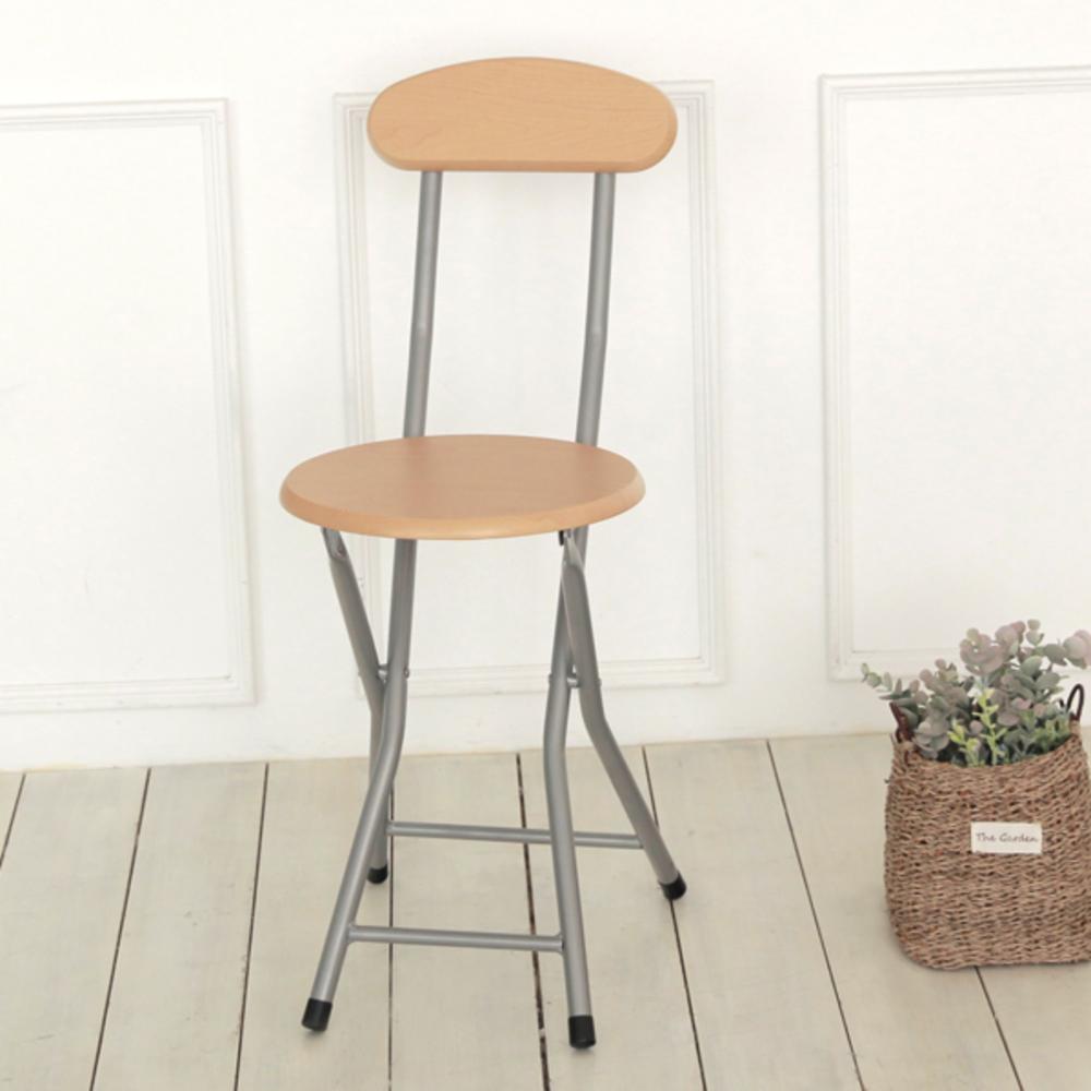 팬물산 우드 등받이 접이식 의자, 메이플