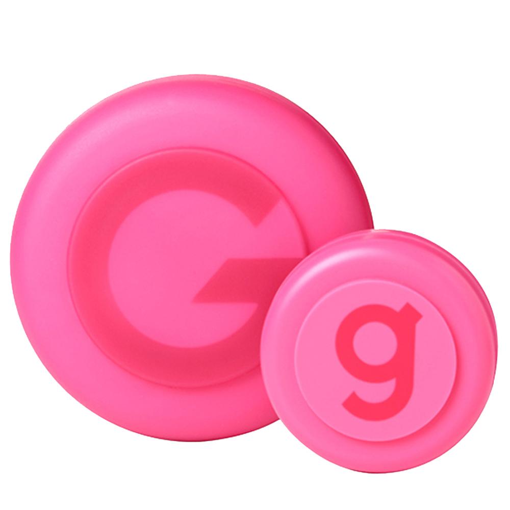갸스비 무빙러버 스파이키엣지 헤어왁스 80g+15g 핑크, 1세트