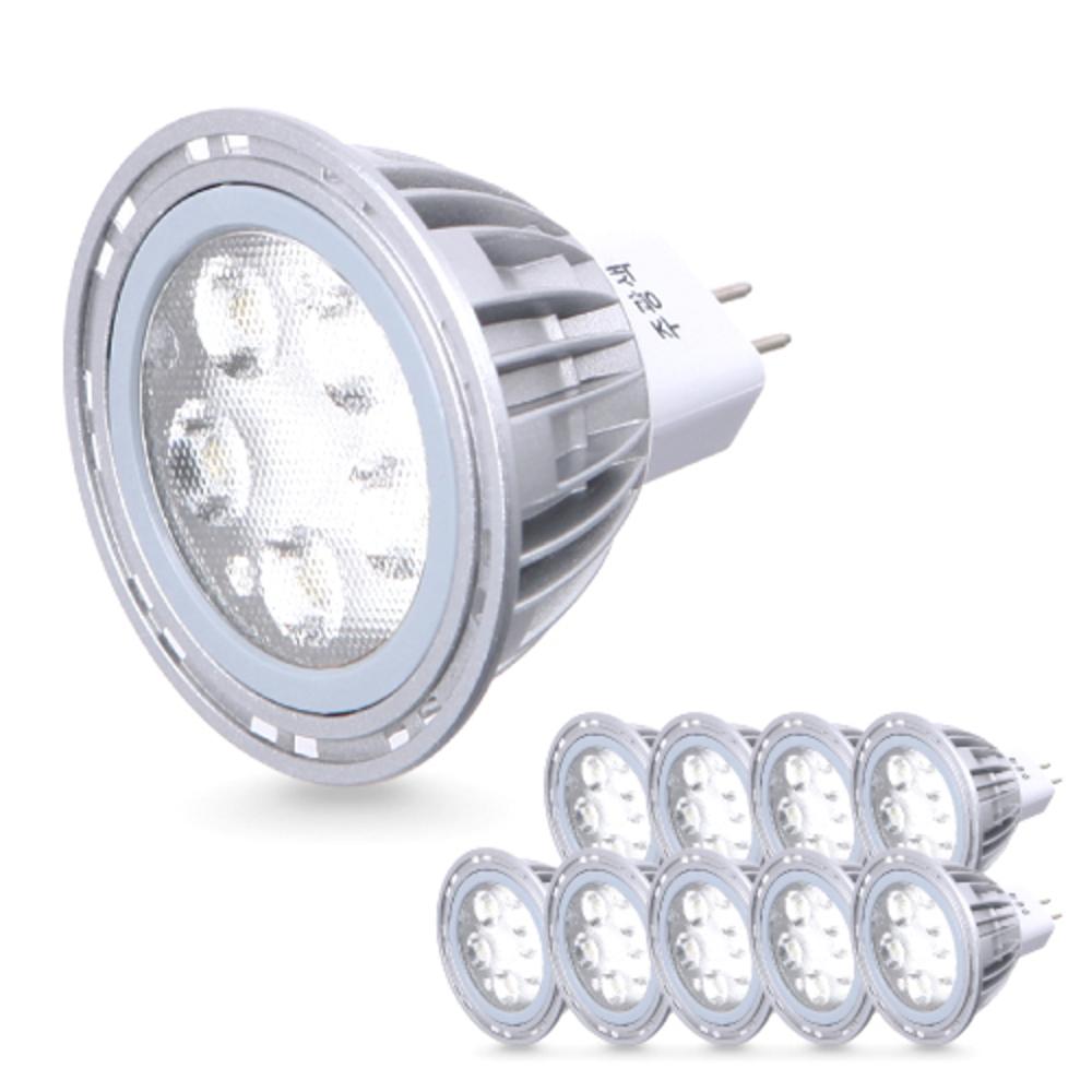 씨티오 LED MR16 램프 5W 10p, 주광색(형광등색)