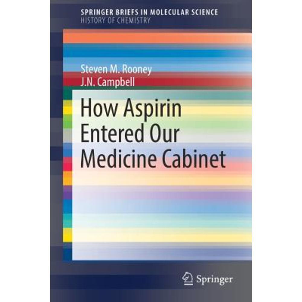 How Aspirin Entered Our Medicine Cabinet Paperback, Springer