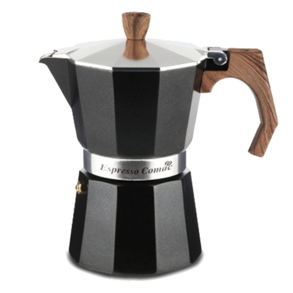 코맥 에스프레소 커피 메이커 모카포트 3컵, 혼합 색상, 1개
