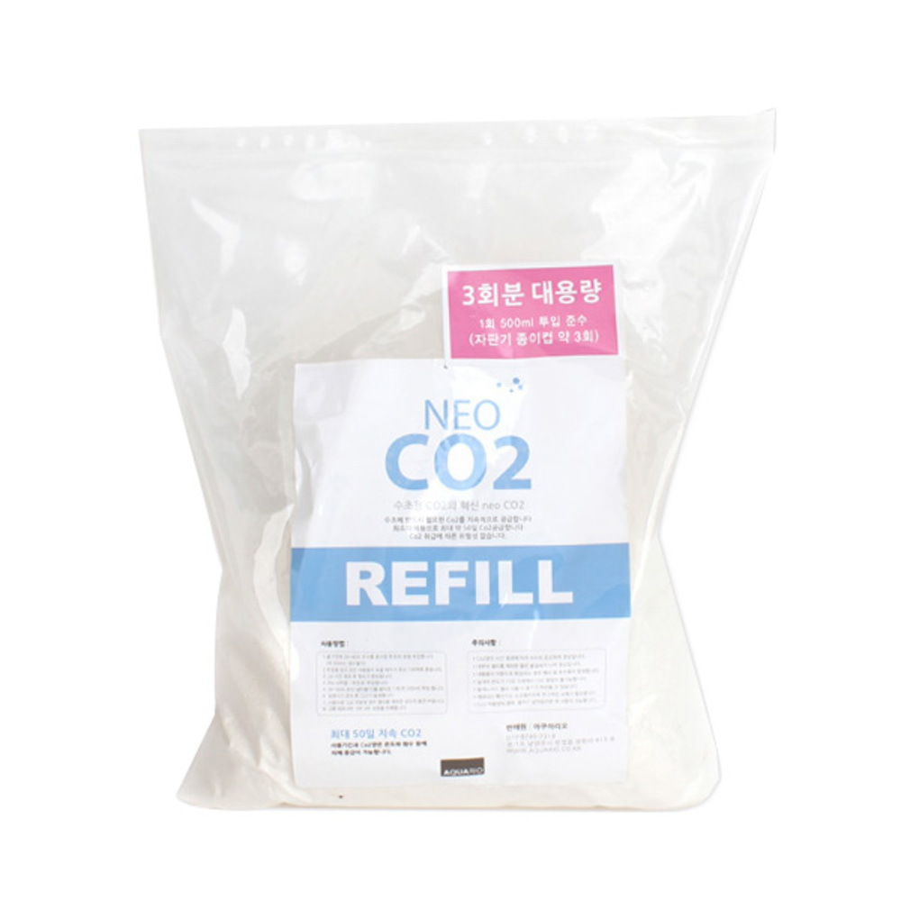에이스코리아 네오 수초용 Co2 리필 3회분 대용량, 1개