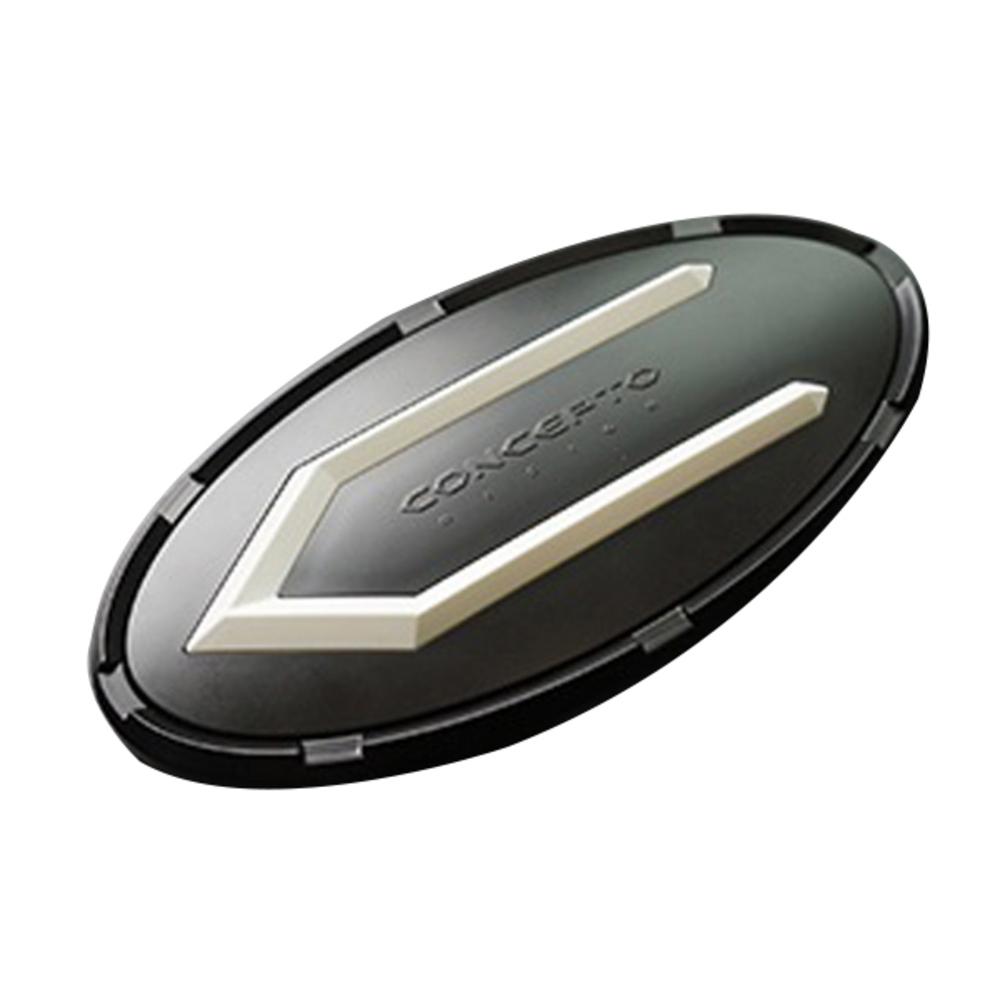 닥쏘오토 카컴 컨셉토 차량용 엠블럼, 6호, 블랙 + 블랙 + 화이트