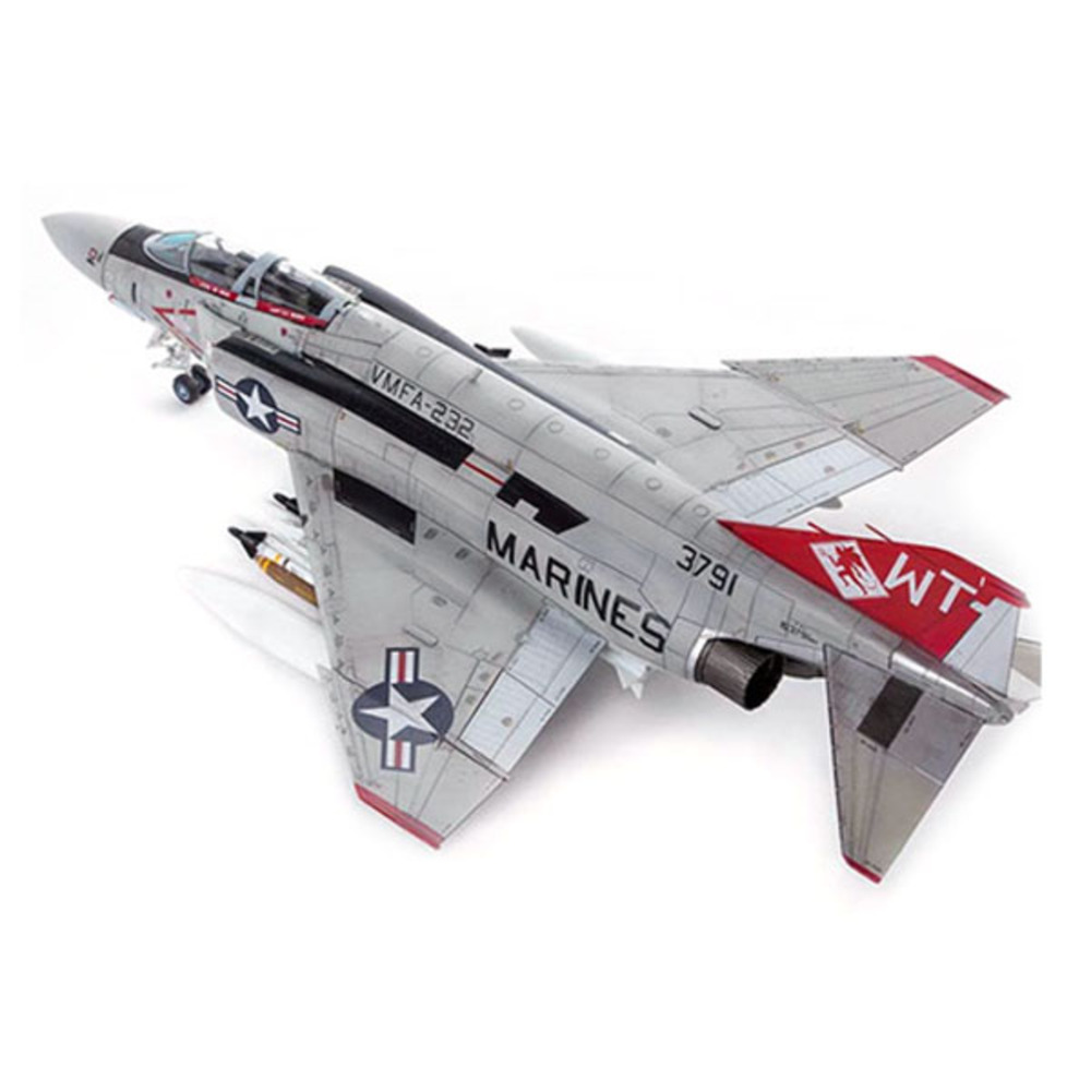 아카데미과학 1/72 미해병대 F-4J VMFA-232 레드데블스 프라모델 12556, 1개