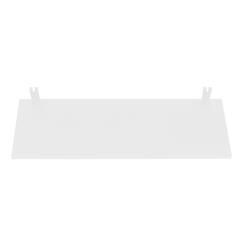 까사마루 매직파티션 MDF 선반 595 x 170 x 10 mm, 화이트, 1개