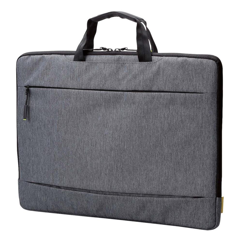 엘레컴 노트북 가방 BM-IBCH15, 그레이, 15.6in