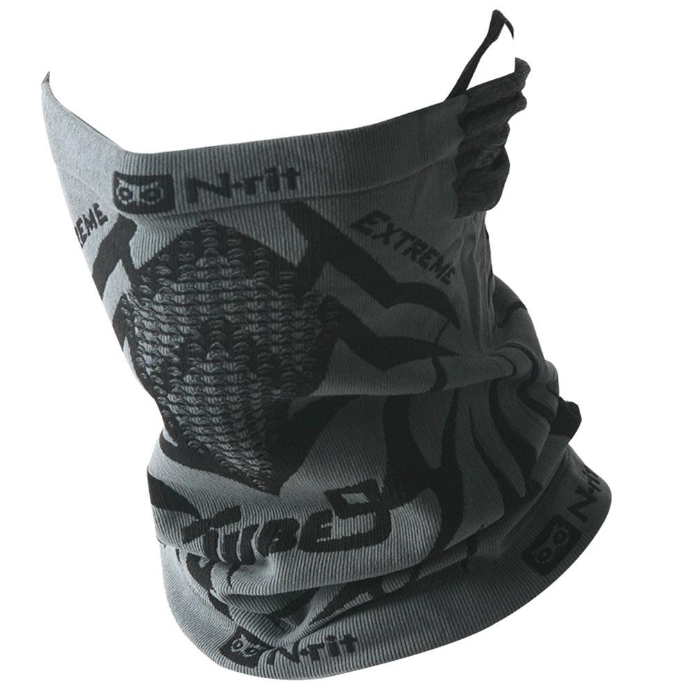 엔릿 튜브나인 익스트림3 넥워머, 그레이 + 블랙